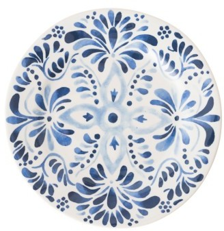 Wanderlust Collection - Sitio Stripe Stoneware Dinner Plate