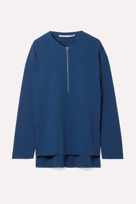 Stella McCartney Arlesa Crepe Top - Royal blue