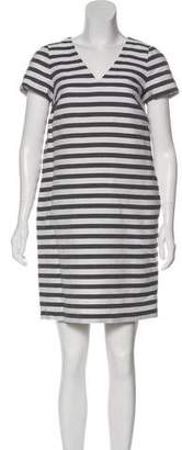 Max Mara Weekend Striped Linen Dress