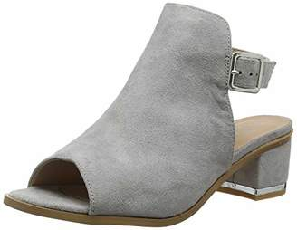 New Look Women's Wide Foot Vampire 5911295 Ankle Boots (Mid Grey 4), 7 (40 EU)