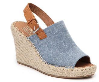 Toms Monica Espadrille Wedge Sandal - Women's