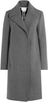 DKNY Coat with Oversized Collar $599 thestylecure.com