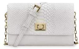 GiGi New York Catherine Python Leather Crossbody Bag