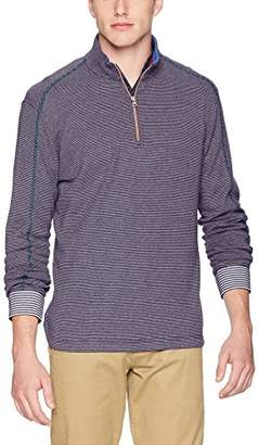 Robert Graham Men's Kitson Quarter Zip Knit