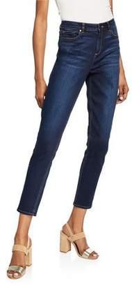 Elie Tahari Azella Mid-Rise Skinny Jeans