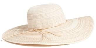 Caslon R) Floppy Straw Hat