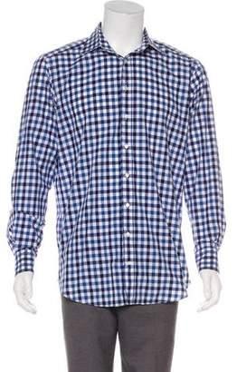 Etro Woven Gingham Shirt