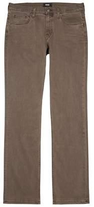 Paige Federal Brown Skinny Jeans