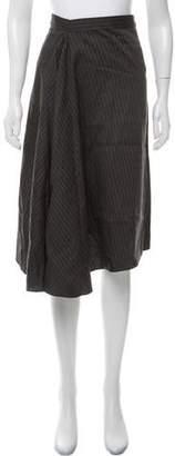 Creatures of Comfort Striped Midi Skirt