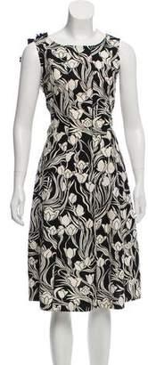 Max Mara 'S Sleeveless A-Line Dress