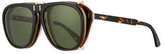 2650a67ed6 Gucci Men s Acetate Aviator Optical Frames w  Sunglasses