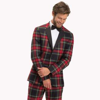 Tommy Hilfiger Wool Tartan Slim Fit Blazer
