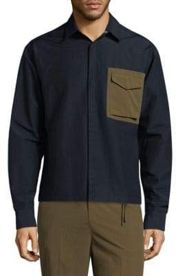 P.L.C. Contrast Pocket Shirt Jacket