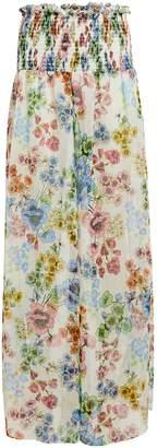 Alexis Christa Floral Sheer Pants