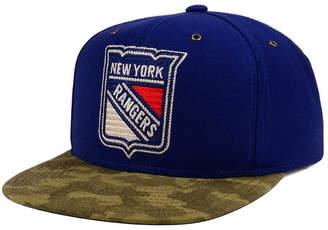 Ccm New York Rangers Fashion Camo Snapback Cap