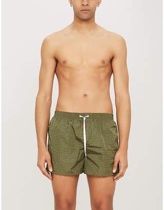 02696d93bd DSQUARED2 Born in Canada-print swim shorts
