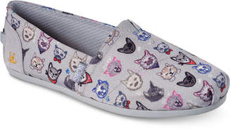 Skechers Women's Bobs Plush - Posh Cat Bobs for Dogs and Cats Casual Slip-On Flats from Finish Line