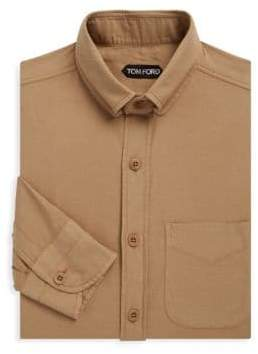 Tom Ford Patch Pocket Dress Shirt