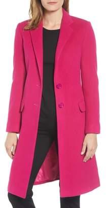Helene Berman Charles Gray London Wool Blend College Coat