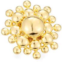 Devon Leigh 18K Gold-Plated Sunburst Ring