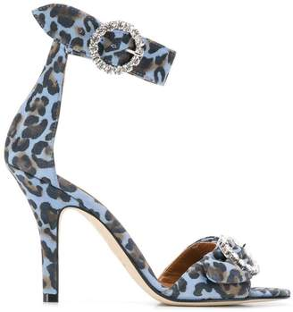 Paris Texas leopard print sandals