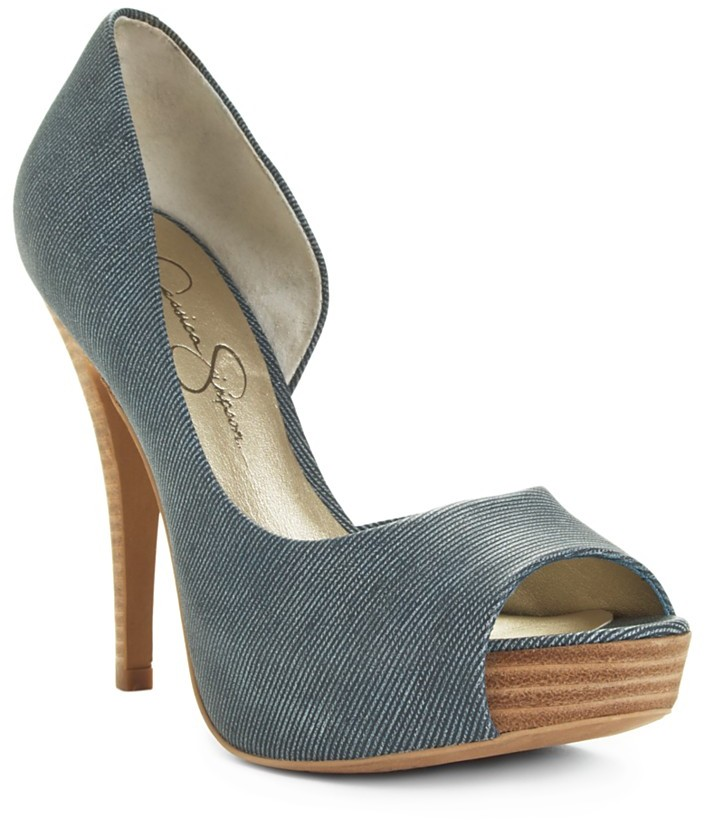 Jessica Simpson Shoes, Acadia Peep Toe Pumps