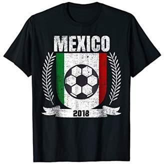 Mexican 2018 Football Mexico Soccer Fan Jersey T-Shirt