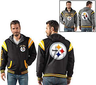NFL Ultimate Fan Reversible Hooded Full ZipJacket