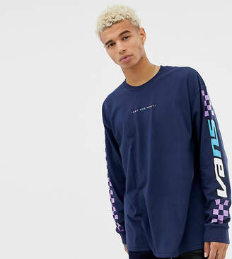 Vans long sleeve top with sleeve print Exclusive at ASOS