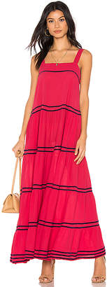 9seed 9 Seed Sayulita Tier Maxi Dress