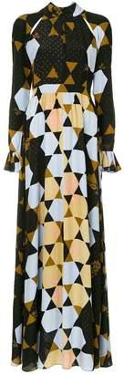 Stine Goya hexagon print maxi dress