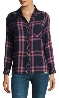 Rails Hunter Plaid Button-Down Shirt $148 thestylecure.com