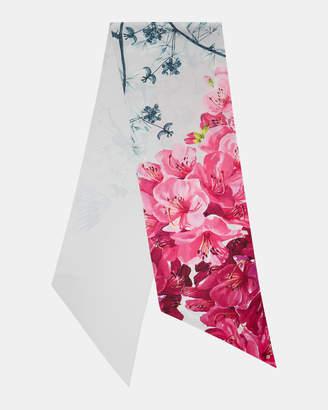Ted Baker CCASEY Babylon skinny silk scarf