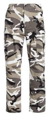 Balenciaga Camouflage-Print Pants