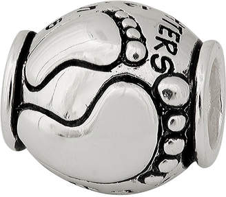 JCPenney FINE JEWELRY Forever Moments Mother and Daughter Oxidized Charm Bracelet Bead