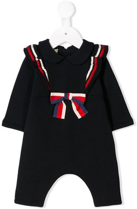 Gucci Kids bow detail onesie