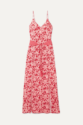 Vix Hermosa Elba Printed Voile Maxi Dress - Pink