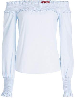HUGO Enuka Off-Shoulder Cotton Blouse