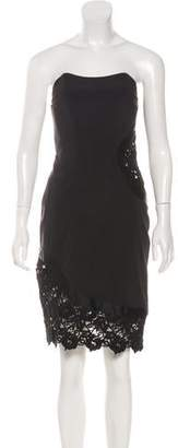 Alexis Lace-Accented Dress w/ Tags