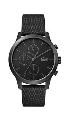 Lacoste pvd Quartz Watch with Leather Strap
