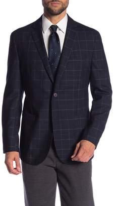 Vince Camuto Air Two Button Notch Lapel Slim Fit Blazer