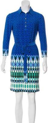 Ali Ro Long Sleeve Mini Dress