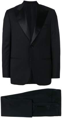 Kiton embellished lapel dinner suit