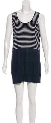 Akris Punto Sleeveless Mini Dress
