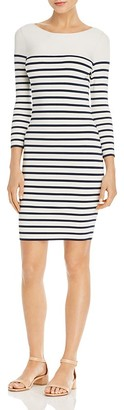 T by Alexander Wang Stripe Knit Dress $395 thestylecure.com