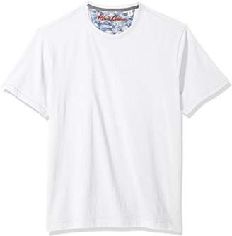 Robert Graham Men's Neo Short Sleeve Crewneck T-Shirt