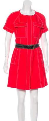 MICHAEL Michael Kors Belted Mini Dress