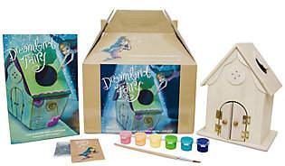 Dreamland Fairy House Kit with Book, Paint & Fairy Dust