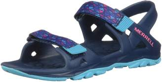 Merrell Girl's Ml-Hydro Drift Sandals, Navy/Multi