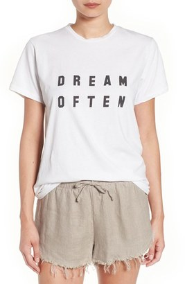 Women's Sincerely Jules 'Dream Often' Graphic Tee $49 thestylecure.com